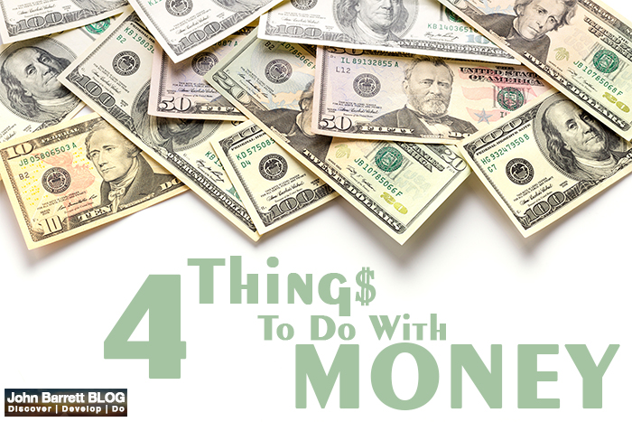 4 Things To Do With Money
