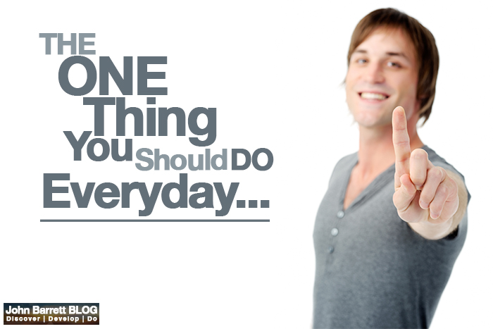 The One Thing You Should Do Everyday