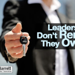 Leaders Don't Rent…They Own.
