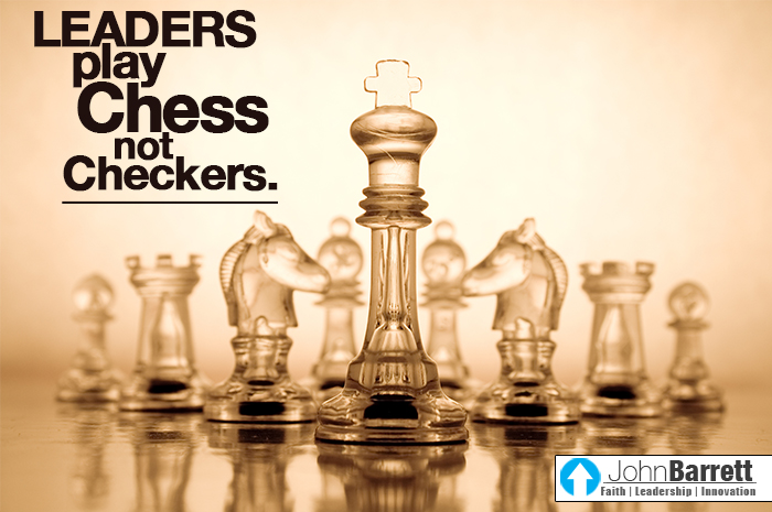 Life is a game of chess not checkers - YouTube