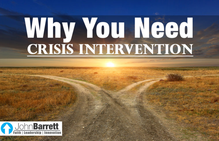 Why You Need Crisis Intervention